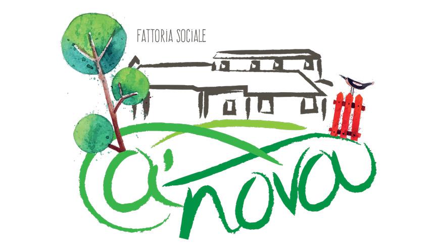 Presentato  il logo della Fattoria Sociale Ca'Nova